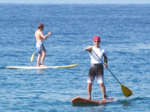 Harry, Stand Up Paddle Boarding at Honua Kai, Lahaina, Maui